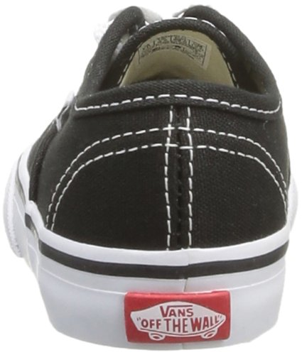 White bébé Baskets mode Authentic mixte T Vans Black Noir qBxpwC8AO