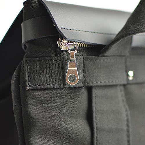 Max amp; Bordeaux dos à amp; Personnalisable Noir Cuir Coton Sac Caro Noir Bandoulière Femme Imperméable Beige Noir amp; pfqrdApxw
