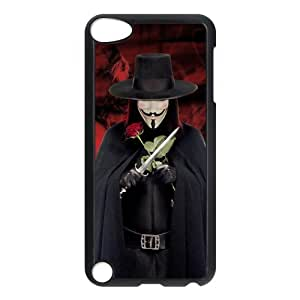V for Vendetta Customize iPod 5 Protective Hard Plastic Shell Cover Case Suit For iPod Touch 5th Generation