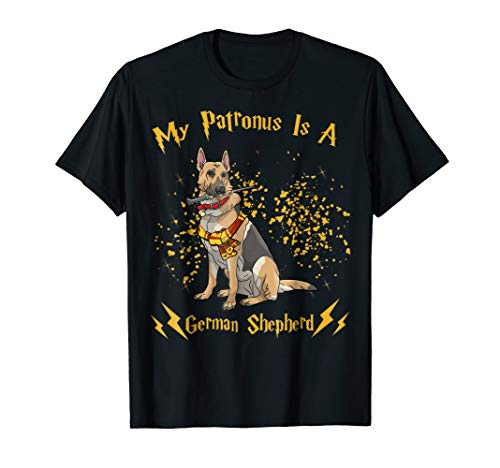 My Patronus is a German Shepherd Christmas Tshirt