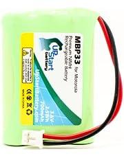 Motorola MBP33 Battery - Replacement for Motorola MBP33, MBP36 Baby Monitor Battery (700mAh, 3.6V, NI-MH)