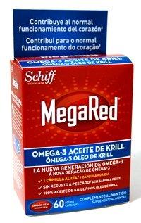 Megared Omega 3 - Aceite de Krill Complemento Alimenticio sin Regusto a Pescado 60 cápsulas gratis: Amazon.es: Salud y cuidado personal
