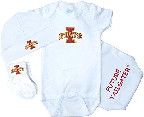 Future Tailgater Iowa State Cyclones 3 Piece Baby Set (3-6 Months)