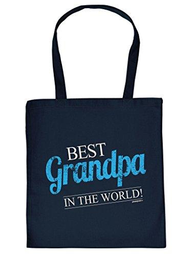 Mega Cool Cotton Bag / Tote Bag - Regalo Per Il Nonno - Miglior Nonno Del Mondo / Goodman Design