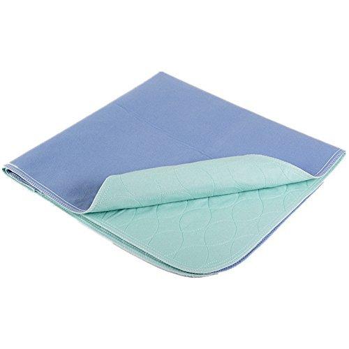 Paquete de 4 almohadillas para orejas blandas para cama de incontinencia, lavables y reutilizables, para adultos, niños o...