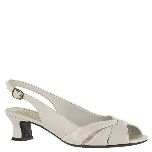 Easy Street Womens Ariel Dress Pump Avorio Serpente / Sintetico