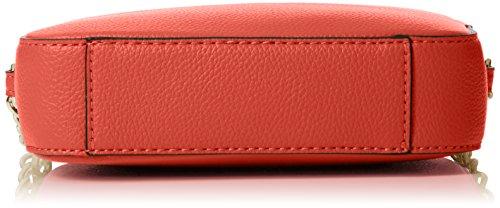 GUESS Isabeau - Bolso bandolera Mujer,26 x 18 x 5.5 cm (W x H x L) Rojo