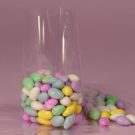 Clear Cello/cellophane Bags - Gusseted - 100 Bags - 6