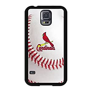 St. Louis Cardinals Design Baseball Team Symbol Solid Case Cover for Samsung Galaxy S5 I9600 Designed by HnW Accessories