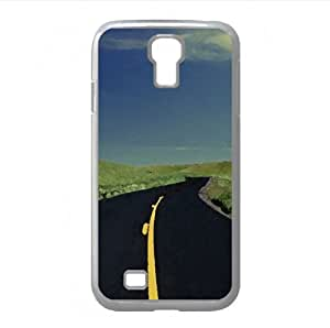 Highway Watercolor style Cover Samsung Galaxy S4 I9500 Case (Landscape Watercolor style Cover Samsung Galaxy S4 I9500 Case)