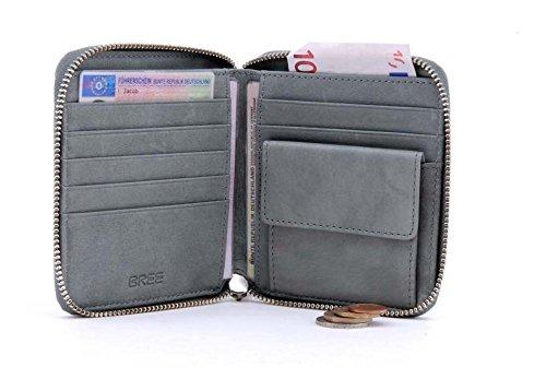 BREE, chiusura lampo combinato borsa, Montpellier 107 mint (Mintgrün)