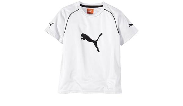 PUMA Shirt Ringer Jersey - Prenda, Color Blanco/Negro, Talla 14 ...