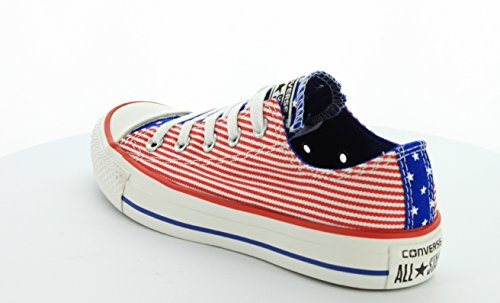... Converse - Chuck Taylor All Star Ox Chaussures Red/White/Blue ...