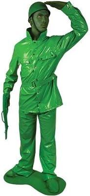Generique - Disfraz Morphsuits Soldado Verde Adulto: Amazon.es ...