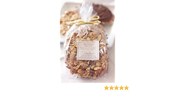 Amazon.com: Dulce Bean Organic Wheat and Gluten Free Dark Chocolate Almond Cookies / Thins