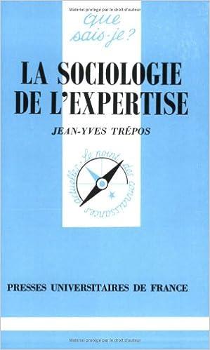 Livres La sociologie de l'expertise pdf, epub