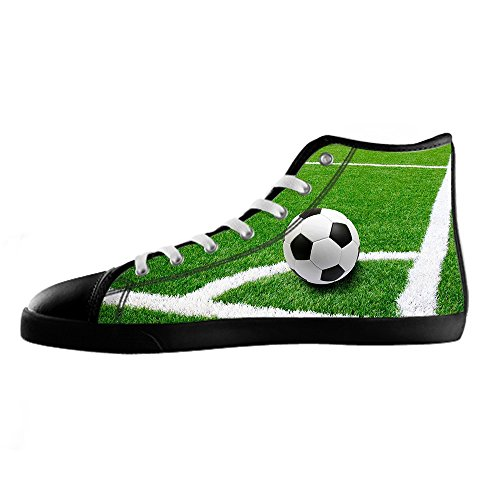 Custom Football sports Mens Canvas shoes Schuhe Lace-up High-top Sneakers Segeltuchschuhe Leinwand-Schuh-Turnschuhe D