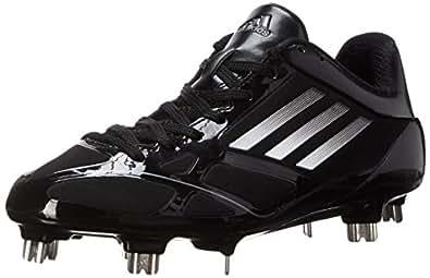 adidas Performance Men's Adizero 5-Tool 2.0 Baseball Cleat, Core Black/Metallic Silver/Neo Iron Met. F11, 8 M US