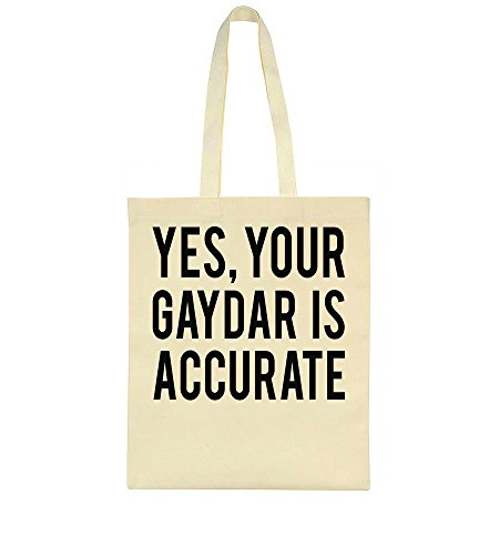 Tote Gaydar Your Yes Bag Accurate Is q1BfO