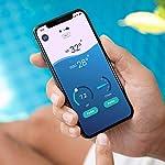Flipr-Start-Max-Assistant-connesso-Piscina-e-Spa-Analisi-continua-dellacqua-247-Acqua-chiara-e-pulita-tutto-lanno-senza-sforzo