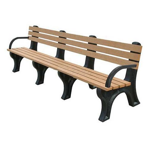 8' Backed Bench - 8