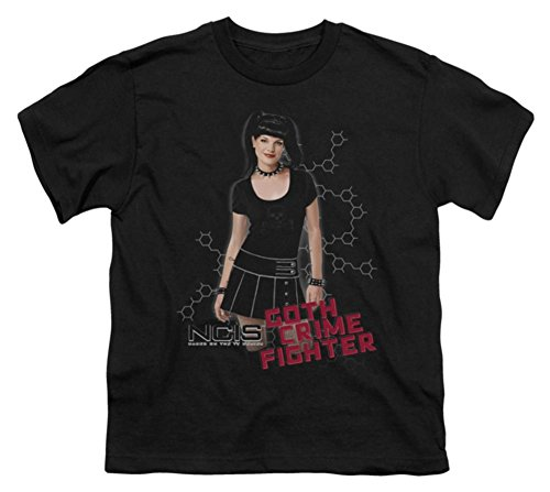 Youth: NCIS - Goth Crime Fighter Kids T-Shirt Size YM Goth Crime Fighter