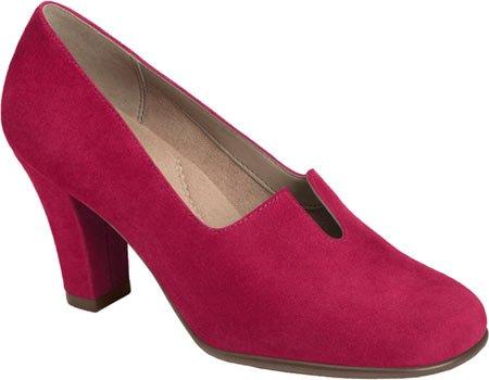Aerosoles - Zapatos de vestir para mujer Dark Red Suede