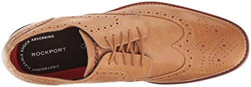 Tip Men's Rockport Style Tan Purpose Light Leather Wing qZIpOp