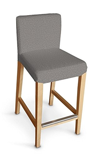Dekoria IKEA HENRIKSDAL Sgabello da bar, colore: grigio: Amazon.it ...