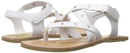 Pictures of Rachel Shoes Girls' Lil Panama Sandal White 4