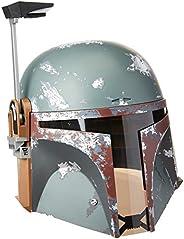 Star Wars Black Series Capacete eletrônico premium Boba Fett - Artigo de roleplay colecionável a comemorar o 4