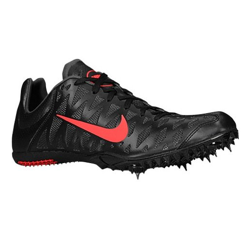 best sneakers 8e2c3 3ccb6 Amazon.com  Nike Zoom Maxcat 4 Unisex Sprint Spikes (5, BlackAtomic  RedDark Charcoal)  Track  Field  Cross Country