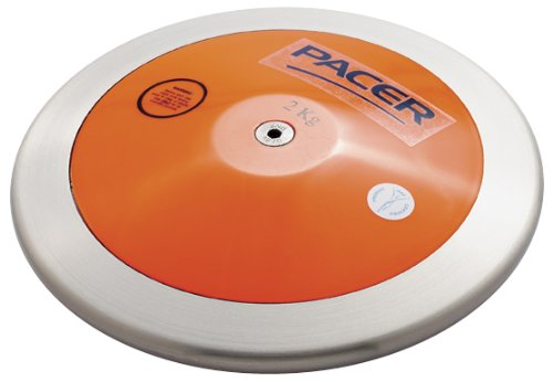 Gill Athletics PACER ORANGE 1.6K DISCUS by Gill Athletics