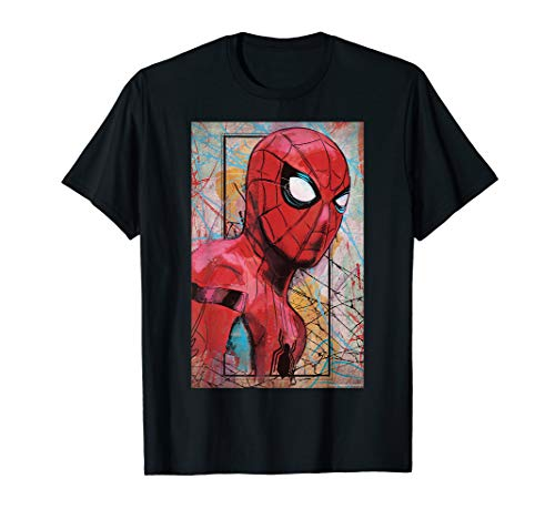 Marvel Spider-Man Far from Home Poster  T-Shirt ()