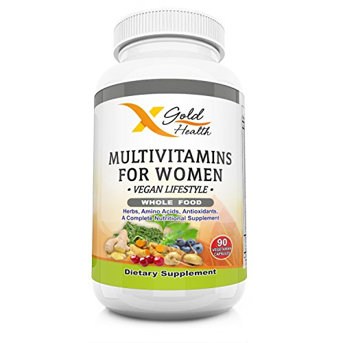 Fusion Plus Vitamin (Vegan Wholefood Multivitamin for Women 50 + with Organic Whole Food Based Natural Ingredients, Plus Multi Vitamin B Complex, Iron and More - Immune System Booster - Non GMO (90 Count))