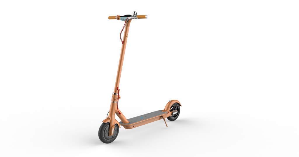 Faltbare Elektrische Roller Mit 6 Zoll Motor Elektrische Skateboard Front Led-licht Einfach Klapp E-roller Aluminium Legierung Roller Elektro-scooter