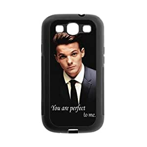 """Serve Sincerely The Popular And Hot Idol Singer Team One Direction Louis Tomlinson """"You are perfect to me"""" For Samsung Galaxy S3 I9300 Best Silicone Durable Case"""