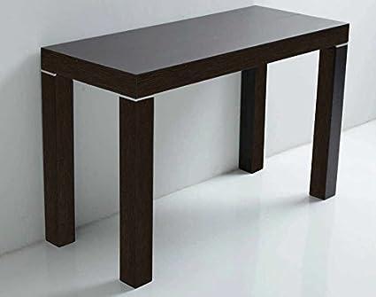 ARREDinITALY - Tavolo consolle allungabile da 110x50 a 110x300 cm ...