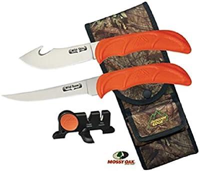 Outdoor Edge Cutlery Corp Wild-Bone Set, Orange