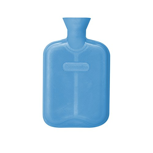 Cassandra Hot Water Bottle, Ribbed Surface Both Sides, 1.8 Litre, 5 Year...