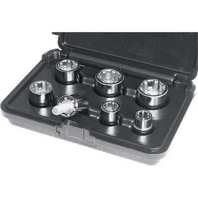 BT&F 00111 7-Piece SAE Socket Set