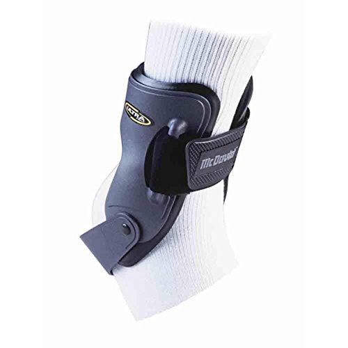 Mcdavid Ultra Ankle Brace - McDavid Classic Logo 188 CL Ultra Hinged Ankle Support Graphite-Medium