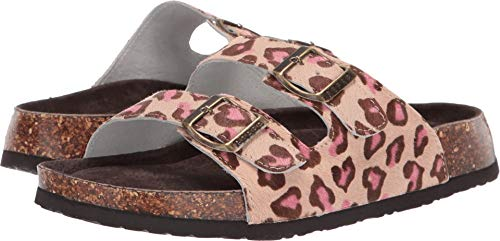 ROPER Women's Delilah Pink Cheetah Hair On Hide 8 M US