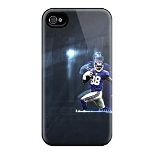 DustinFrench Iphone 4/4s Scratch Protection Mobile Covers Support Personal Customs High-definition New York Giants Image [AWK2529jJAi]