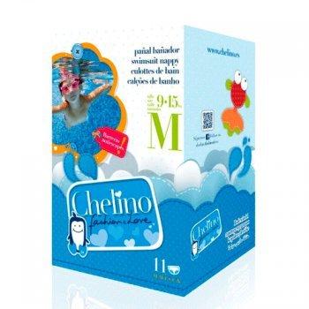 Pañal Bañador CHELINO Talla M (9-15 kg) 12 uds