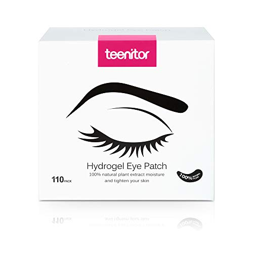 da41debf9cd Teenitor 110 Pairs Set Under Eye Pads, Professional Eyelash Pad Gel Patch  for Lashes Extension