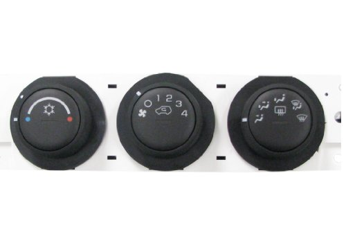 ACDelco 15-73909 GM Original Equipment Heating and Air Conditioning Control Panel with Rear Window Defogger Switch -