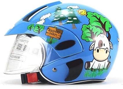 Amazon.es: HaiMa Universal Niños Cascos Moto Niños Bebé Seguridad ...