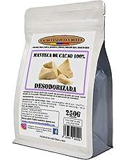 Cacao Venezuela Delta · Manteca De Cacao 100% · Desodorizada · 250g - Calidad Extra