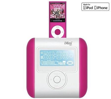 Ozaki imini cute ip831 alarm clock radio pink ip831: amazon. Co. Uk.